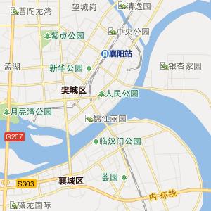 襄樊樊城行政地图_樊城在线行政图图片