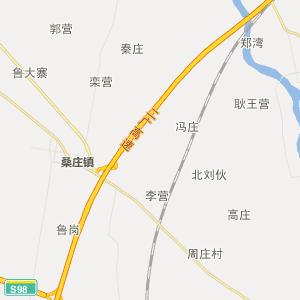 邓州龙堰行政地图_中国电子地图网