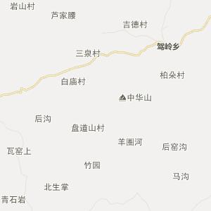 晋城阳城行政地图_中国电子地图网