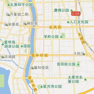 万柏林杜儿坪行政地图