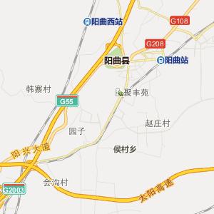 山西行政地图 太原行政地图