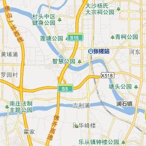 荔湾区东漖街道行政地图图片