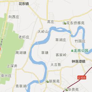 广东省行政地图 广州市行政地图