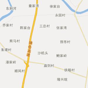 仙桃通海口行政地图_通海口在线行政图