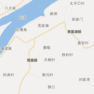 荆州洪湖行政地图_中国电子地图网