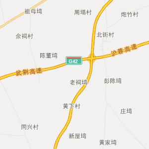 江汉大学校内地图