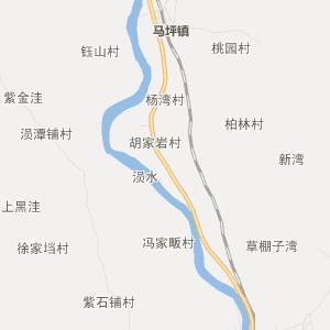 广水马坪行政地图_中国电子地图网图片