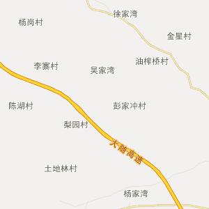 广水关庙行政地图_中国电子地图网图片