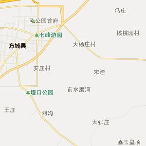 南阳方城行政地图_方城在线行政图图片