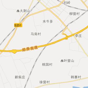 河南省行政地图 平顶山市行政地图