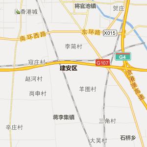 延安宝塔区行政地图