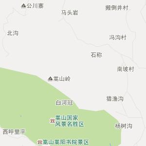 郑州登封行政地图_中国电子地图网