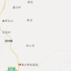 中国动物保护区地图