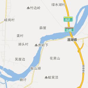 东莞企石行政地图_中国电子地图网