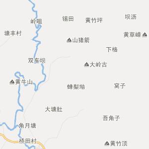 广东省行政地图 河源市行政地图
