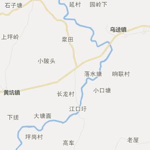 南雄南亩行政地图