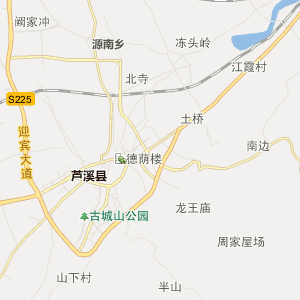 萍乡芦溪行政地图_芦溪在线行政图