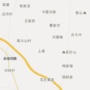 湖北行政地图 黄冈行政地图