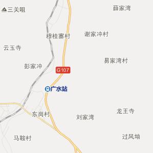 广水广水行政地图_中国电子地图网图片