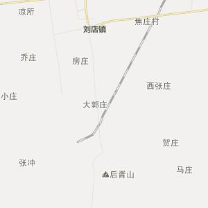 驻马店市确山县行政地图