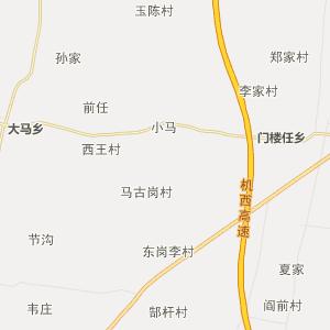 河南省行政地图 开封市行政地图