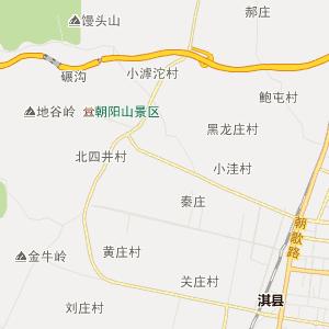 河南省行政地图 鹤壁市行政地图 浚县行政地图 卫贤镇行政地图  uemap