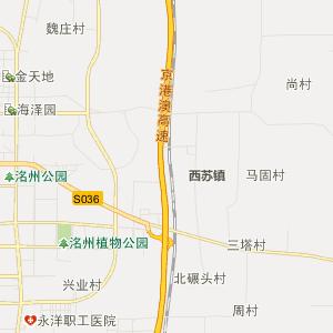 邯郸永年行政地图_永年在线行政图
