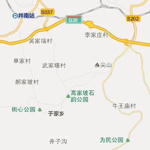 石家庄井陉行政地图_中国电子地图网