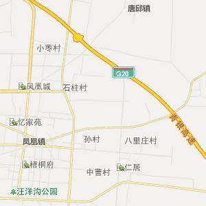 邢台市宁晋县行政地图