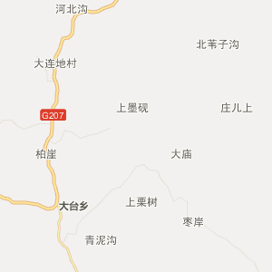 保定阜平行政地图_中国电子地图网图片