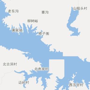 阜平北果元行政地图_中国电子地图网图片