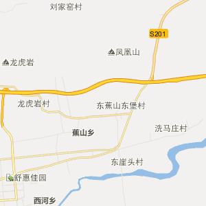 下宫村乡行政地图图片