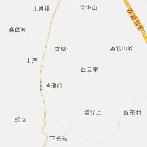 江西省行政地图 吉安市行政地图