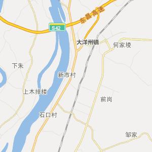 江西省行政地图 宜春市行政地图