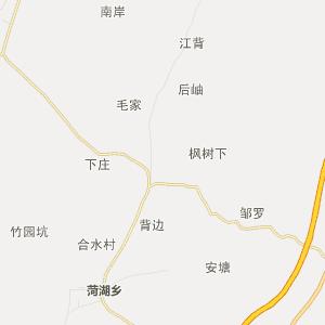 民国时期丰城地图