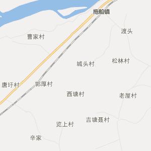 宜春市丰城市行政地图