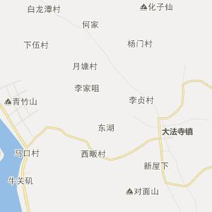 武穴石佛寺行政地图_中国电子地图网
