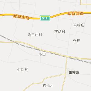 阜南县许堂乡行政地图