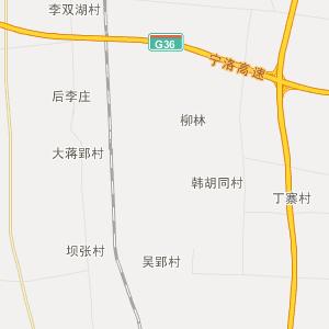 安徽省行政地图 阜阳市行政地图