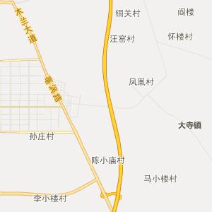 安徽省行政地图 亳州市行政地图
