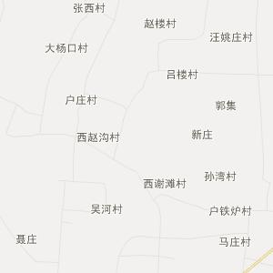 兰考许河行政地图_中国电子地图网