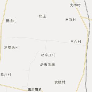 梁园区孙福集乡行政地图图片