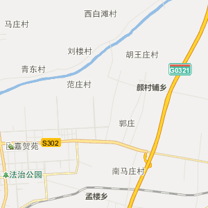 濮阳范县行政地图_中国电子地图网图片