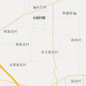 宁晋大陆村行政地图_大陆村行政区划图