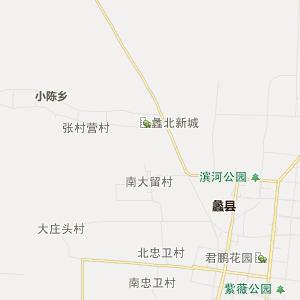 保定蠡县行政地图_蠡县在线行政图
