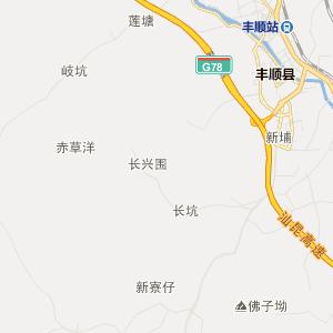 广东省行政地图 揭阳市行政地图