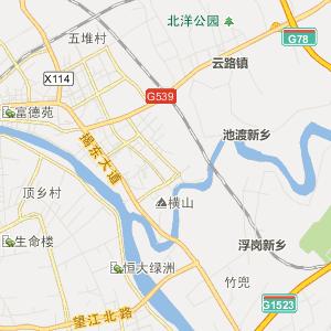 广东揭阳行政地图_揭阳在线行政图
