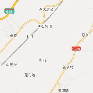 广东省行政地图 汕头市行政地图