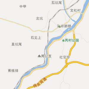 广东梅州行政地图_中国电子地图网