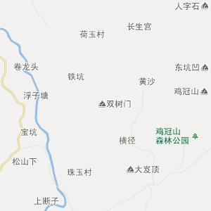 永定县仙师乡在线行政地图实用查询